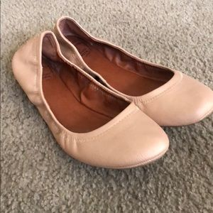 Lucky brand Emmie rose cream flats